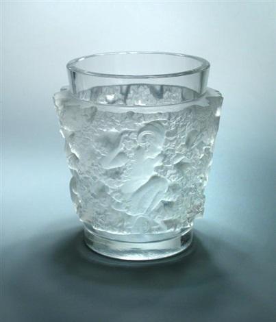 Bacchus An R Lalique Glass Vase By Ren Lalique On Artnet