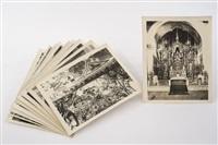 interiores de iglesias (11 works) by guillermo kahlo
