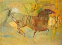 馬 (horse) by huang mingzhe