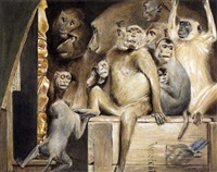 les singes, critiques d'art by hermann von glass