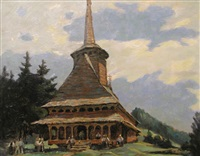 church in maramures by traian biltiu dancus