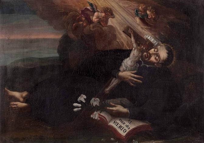 der tod des jesuitenheiligen franz xaver auf der insel sancian bei kanton by austrian school 17