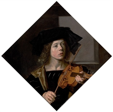 the violinist by frans hals the elder
