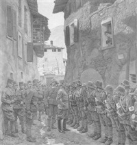 italienische front, 1. weltkrieg by wilhelm dachauer