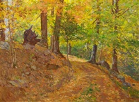 autumn scene by william forsyth