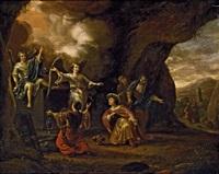 die drei marien am grab by adriaen verdoel