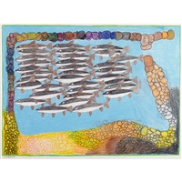 school of fish by janet kigusiuq