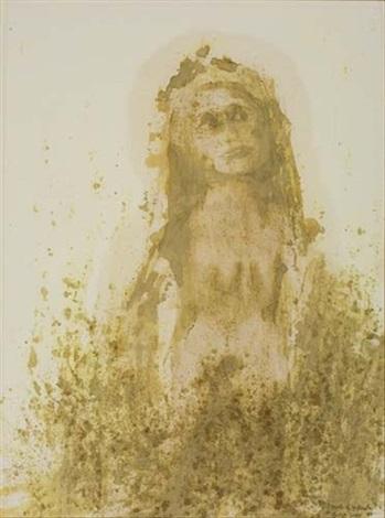 nude in the garden by betye saar