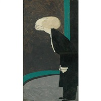 leopold stokowski by ralph barton