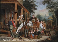 return from the market (study) by john lewis krimmel