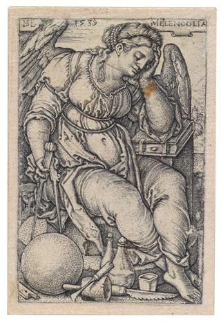 konvolut (4 works) by hans sebald beham
