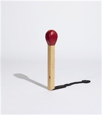 untitled (match) by friedrich kunath