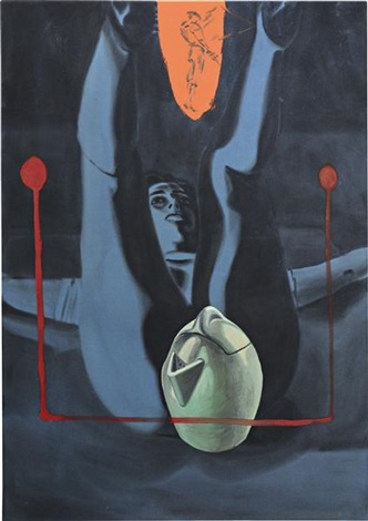 untitled by david salle