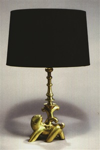 tischlampe by carl (rudolf) helbig