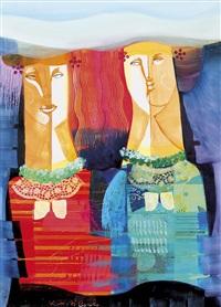 due figure by vittorio maria di carlo