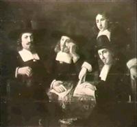 a committee of regents by constantijn daniel van renesse