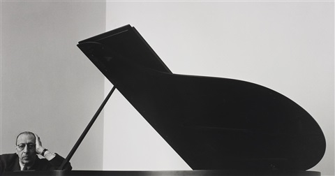 igor stravinsky new york city by arnold newman
