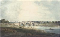 the bridge over the river barna at benares by robert (col.) smith