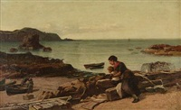 watching the fishermen by james campbell noble