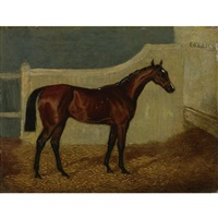 mr. scott's cyprian, winner of the 1836 oaks by john wray snow