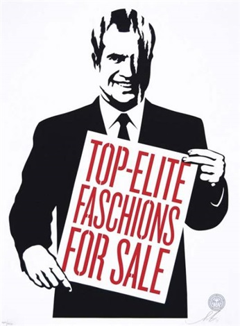 top elite faschions for sale by shepard fairey