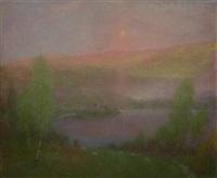 loch scene by robert macaulay stevenson