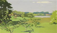 the horse in the meadow by fairfield porter