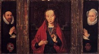 the madonna holding an orange by hans memling