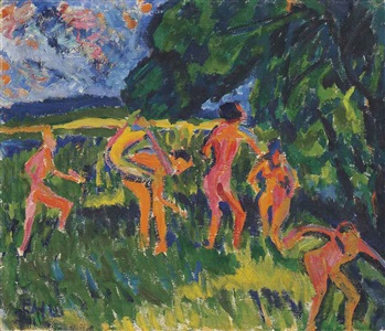 artwork by erich heckel