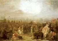 donnybrook fair by john george mulvany