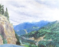 fraser canyon by catherine perehudoff