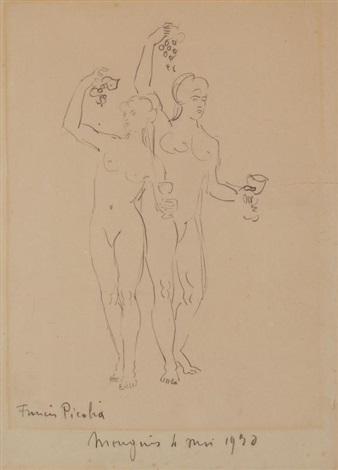 bacchus et bacchantes by francis picabia