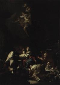 die anbetung der heiligen drei könige by felix ivo leicher