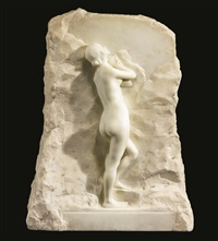 female nude by alfred boucher