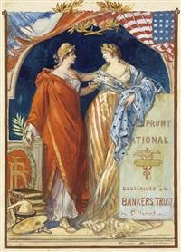 emprunt national (poster design) by firmin bouisset