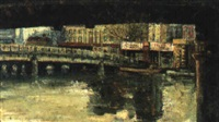 queen street bridge by phyllis paulina waterhouse
