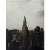 new york (portfolio of 10 works) by tom baril