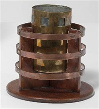 cache pot by gustave serrurier-bovy