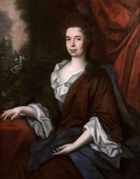 portrait de femme avec un oranger by flemish school (17)