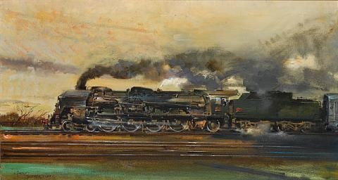 the mistral by terence cuneo