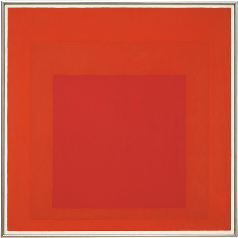 study for homage to the square signal by josef albers