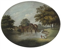 the watermill by james lambert