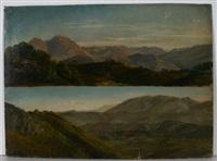 panoramastudien der provenzalischen voralpen um avignon by therese weber