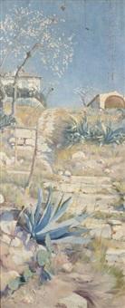 l'ancien couvent des ursulines à martigues by paul aubin