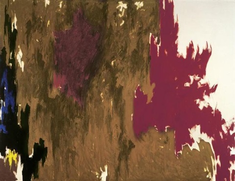 1960 f by clyfford still