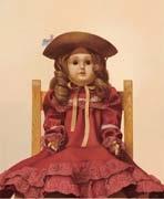 portrait of a doll by sosuke morimoto