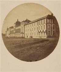l'hôpital eugenie, built for napoleon iii, 1850 by charles nègre
