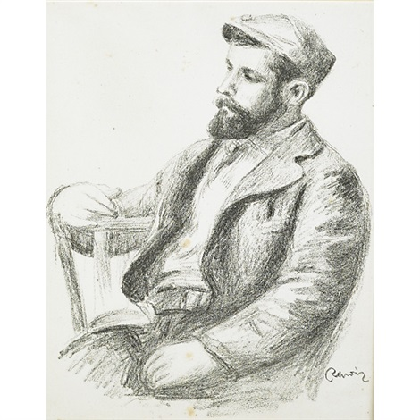 louis valtat from douze lithographies originales de pierre auguste renoir by pierre auguste renoir