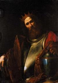 clovis, roi des francs by simon vouet