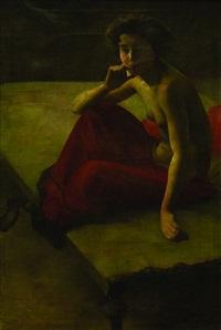 a girl's nude by oldrich homolác